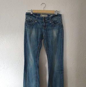 BKE Culture Lightwash Bootcut Jeans
